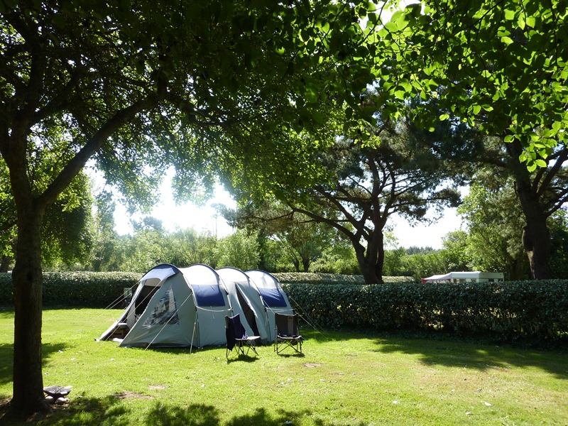 Emplacement camping du camping Kost Ar Moor Fouesnant