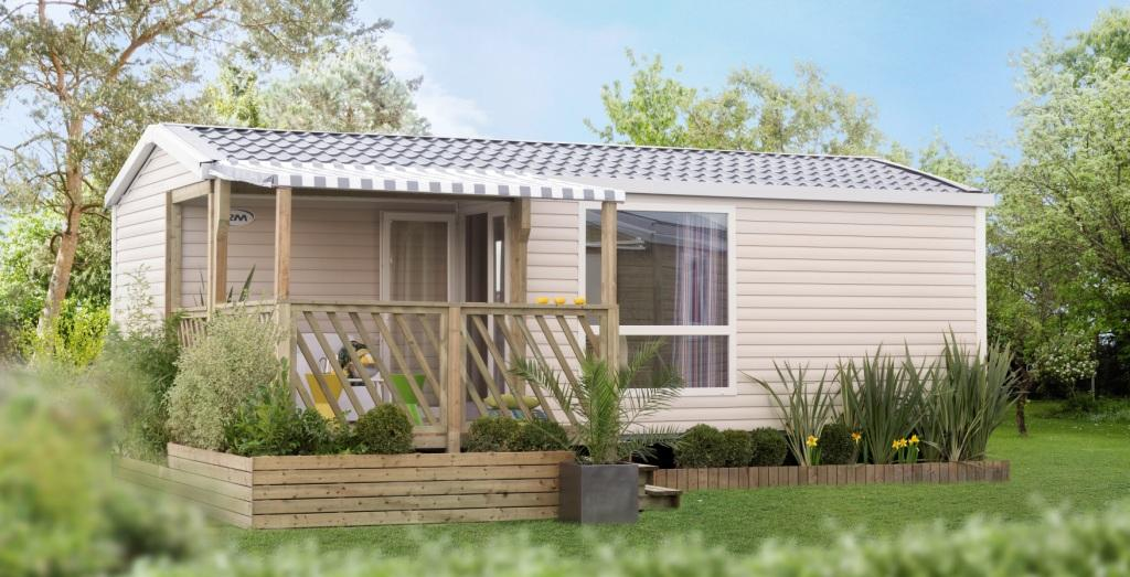 mobil-home Pacific Premium location camping kost-ar-moor