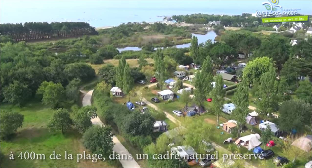Camping Kost Ar Moor - Fouesnant